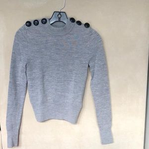H&M Wool Gray Shirt
